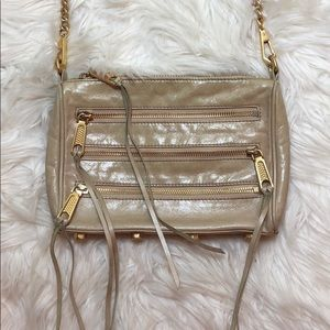 Rebecca Minkoff Panama Zip Light Tan Crossbody Bag